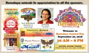 Sponsors at Remalaya 2018