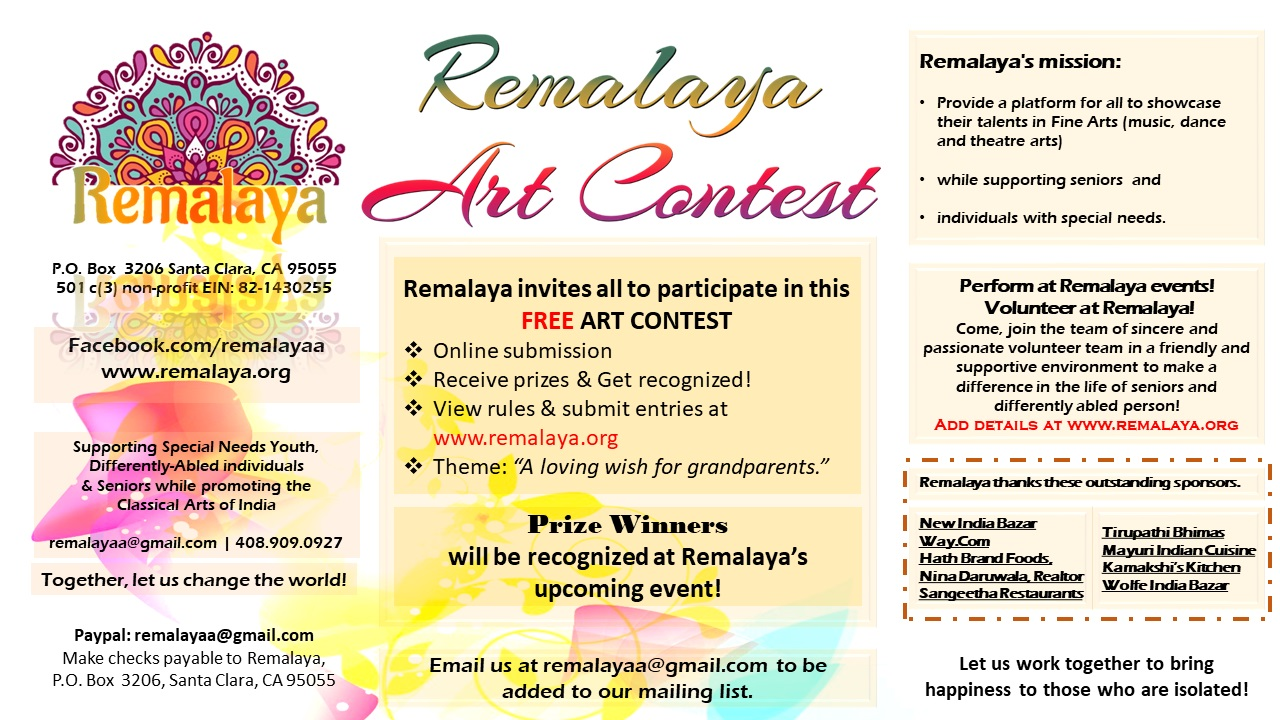 Remalaya Art Contest 2018 – Rules & Instructions.