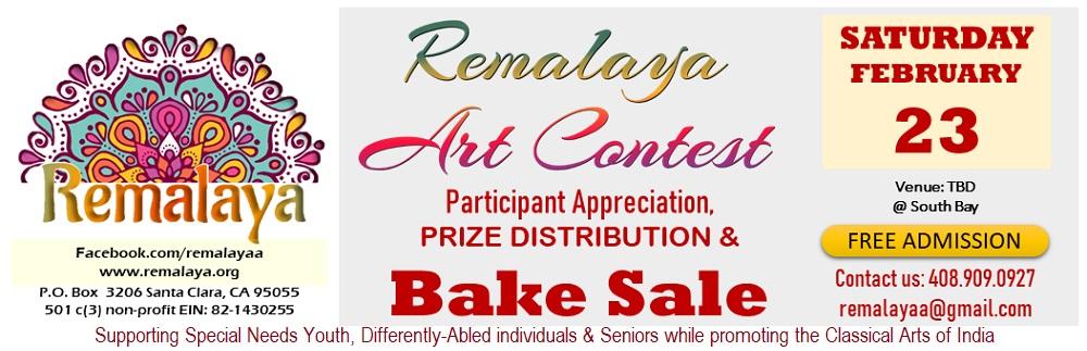 Remalaya's Art Appreciation & Bake Sale on Feb. 23 2019