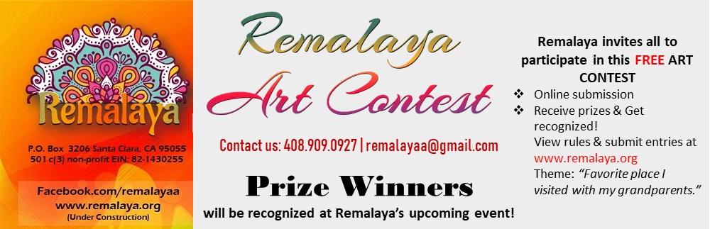 Remalaya Art contest 2020